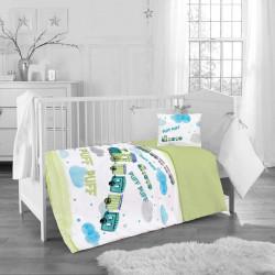 Бебешки спален комплект - детско влакче