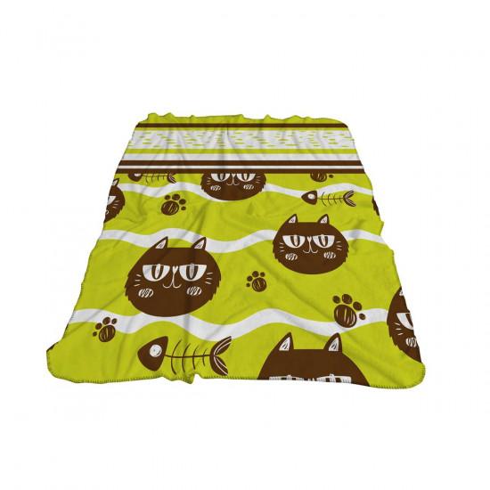 Бебешко одеяло - котки