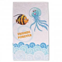 Детска хавлиена кърпа - приятели завинаги