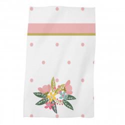 Детска хавлиена кърпа - букет в розово