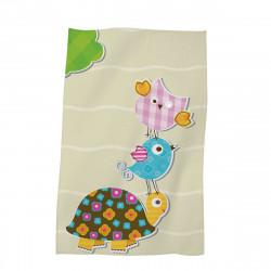 Детска хавлиена кърпа - костенурка