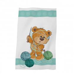 Детска хавлиена кърпа - мече