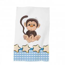 Детска хавлиена кърпа - малката маймунка