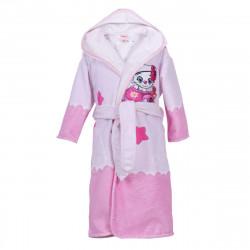 Детски хавлиен халат - коте със здезди M