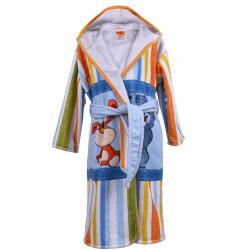 Детски хавлиен халат - заек и мече M