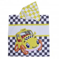 Детско пончо - жълто такси L