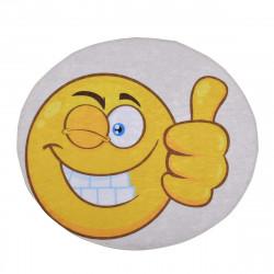 Детско килимче 3D  - усмивка