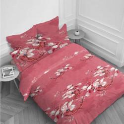 Спално бельо ранфорс за единично легло - илюзия