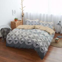 Спално бельо ранфорс за макси спалня - лекота