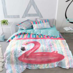 Спално бельо премиум за голяма спалня - екзотика