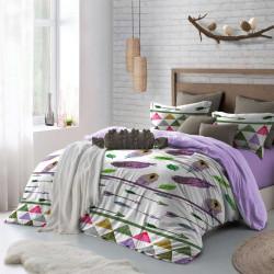 Спално бельо премиум за макси спалня - пера