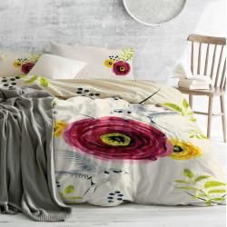 Спално бельо ранфорс за голяма спалня Азия