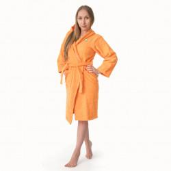 Хавлиен халат Юношески в оранжево