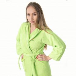 Хавлиен халат Юношески в зелено