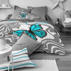 Луксозен спален комплект от памучен сатен с 3D за голяма спалня - органик