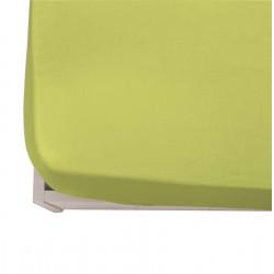 Чаршаф с ластик ранфорс 150/200/20 в зелено