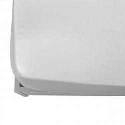 Чаршаф с ластик от ранфорс 150/200/20 в бяло