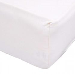 Чаршаф с ластик трико 160/200 в бяло