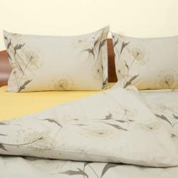 Спално бельо от сатениран ранфорс Глухарче