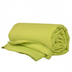 Олекотена завивка от микрофибър 200/210 с двойна вата в зелено
