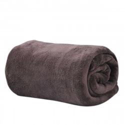 Микрофибърно одеяло 200/220 - кафяво