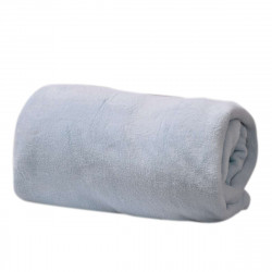 Микрофибърно одеяло 200/220 - светло синьо