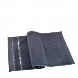 Луксозна хавлиена кърпа микропамук 70/140 сиво