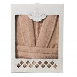Плътен хавлиен халат в кутия Бети 2 бежово