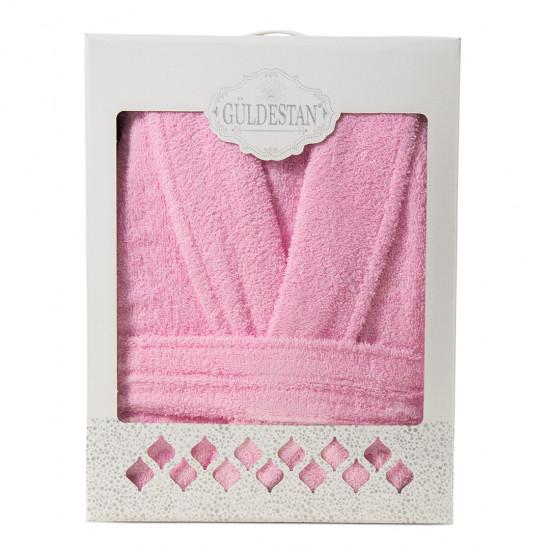 Плътен хавлиен халат в кутия Бети 2 розово