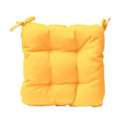 Възглавница за стол 45/45/4 - жълта