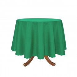 Луксозна покривка за маса Ф 150 - зелена