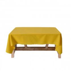 Луксозна покривка за маса 150/150 - жълта