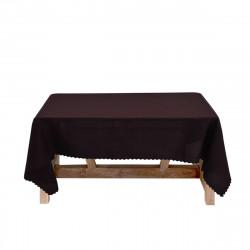 Луксозна покривка за маса 150/220 - кафява
