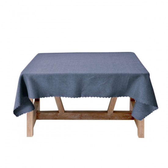 Луксозна покривка за маса 150/220 - синя
