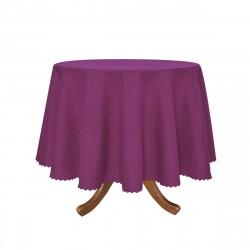 Луксозна покривка за маса Ф 150 - лилава