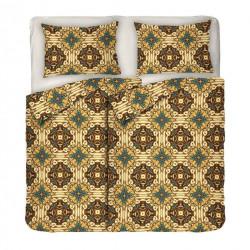 5 части спално бельо Boho Style ранфорс