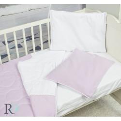 Бебешко спално бельо от памучно трико Розово