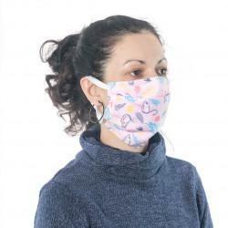 Защитна маска за многократна употреба Print D7