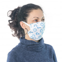 Защитна маска за многократна употреба Print D17