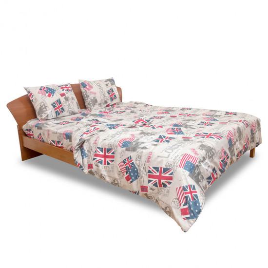 Дизайнерско спално бельо Нов Лондон