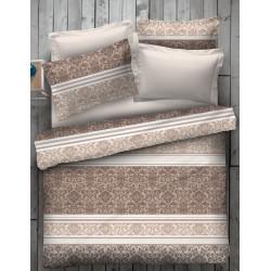 Спално бельо 100% Памук Панама бежово