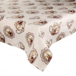 Памучна покривка за маса Чая