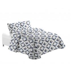 Кувертюра за единично легло Geometric