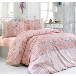 Спално бельо 100% Памук FLO Peach