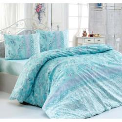 Спално бельо 100% Памук FLO Aqua
