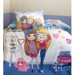 Оригинален детски спален комплект Traveling Friends