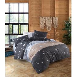 Спално бельо ранфорс Stars