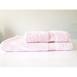 ПРОМО комплект хавлиени кърпи Розово