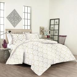 Спално бельо ранфорс с олекотена завивка Kite