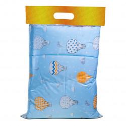 Спално бельо за бебе Blue Balloons ранфорс